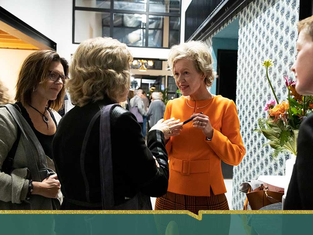 Fotoverslag bijeenkomst met Elske Doets bij ZaanLinQ