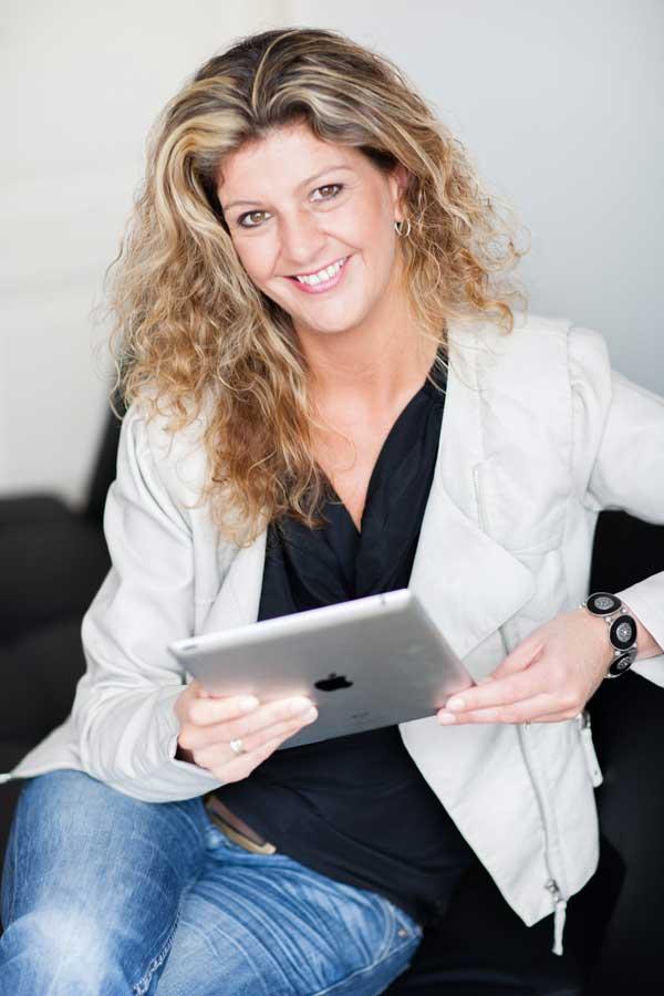 Corinne Keijzer, presentatie over LinkedIn bij ZaanLinQ