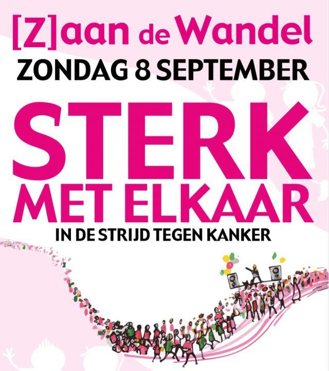 Wandel mee met ZaanLinQ en sponsor Zaan de Wandel nog een beetje extra!