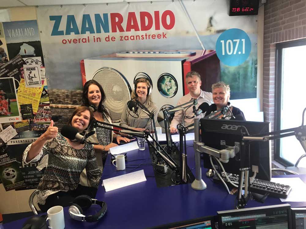 Kandidaten Zaanse Zakenvrouwen 2019 bij Zaanradio