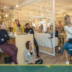 Bedrijfsbezoek Cotton Spa, Zaanse Zakenvrouw 2019, Floor Kliffen