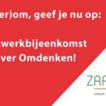 Aanmelden ZaanLinQ bijeenkomst Clinic Omdenken
