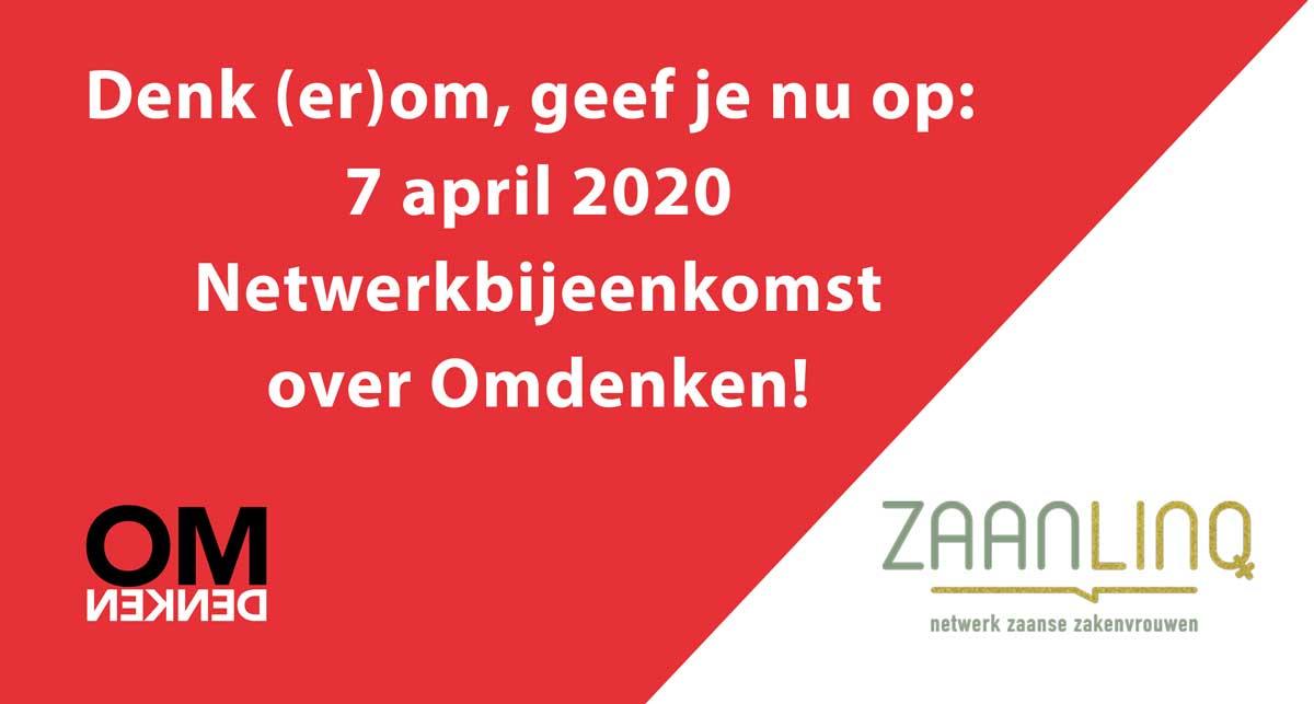 Omdenken clinic bij ZaanLinQ op 7 april 2020